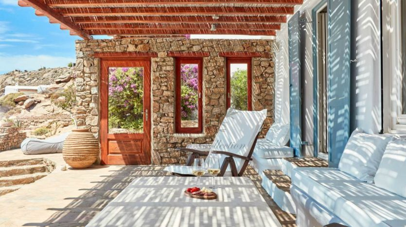Mykonos, Agrari – Absolute Private Villa with Infinity Pool & Stunning view for rent 1 (5)