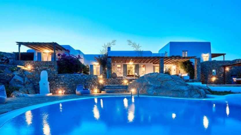 Mykonos, Agrari – Absolute Private Villa with Infinity Pool & Stunning view for rent 1
