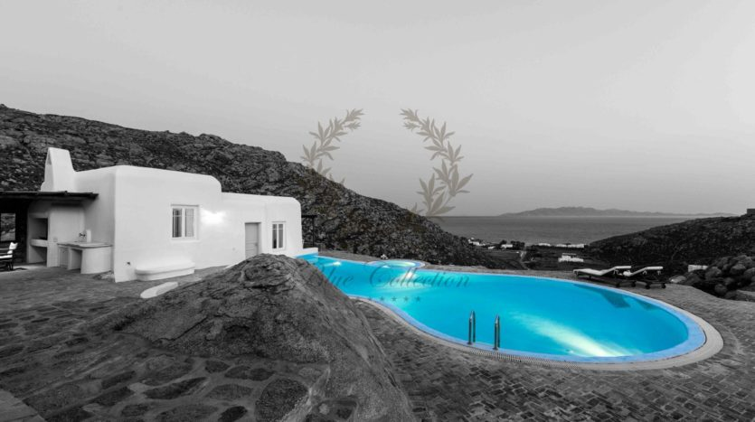 Mykonos, Agrari – Absolute Private Villa with Infinity Pool & Stunning view for rent P11 bwc