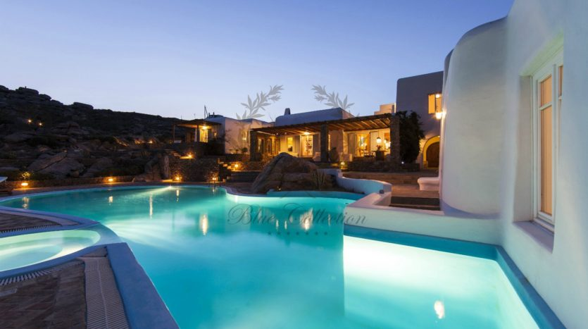 Mykonos, Agrari – Absolute Private Villa with Infinity Pool & Stunning view for rent P20