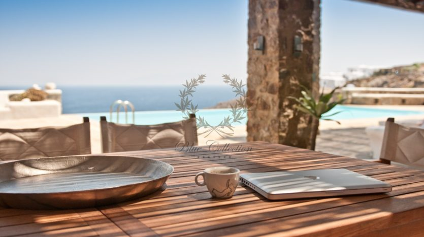 Mykonos Agrari – Private Villa with infinity Pool & Stunning views for rent P13