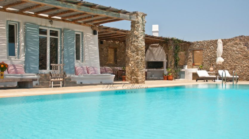 Mykonos Agrari – Private Villa with infinity Pool & Stunning views for rent P15