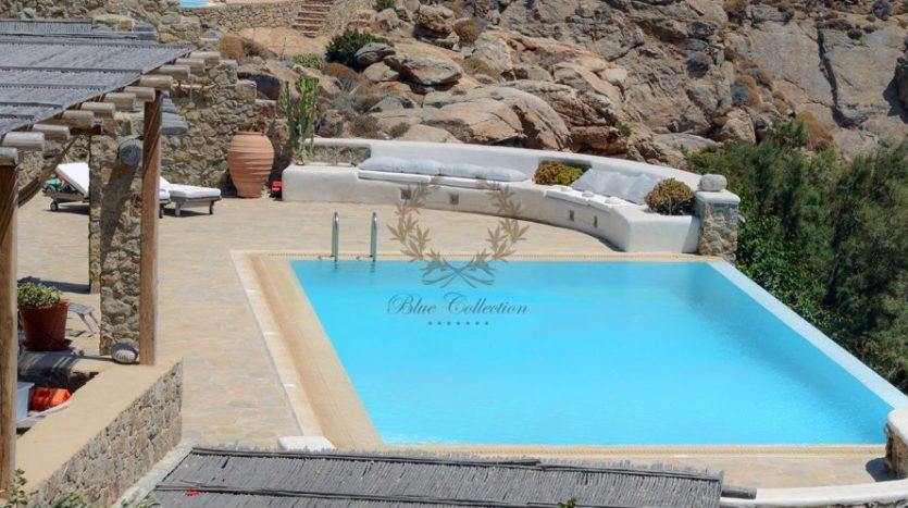 Mykonos Agrari – Private Villa with infinity Pool & Stunning views for rent P16