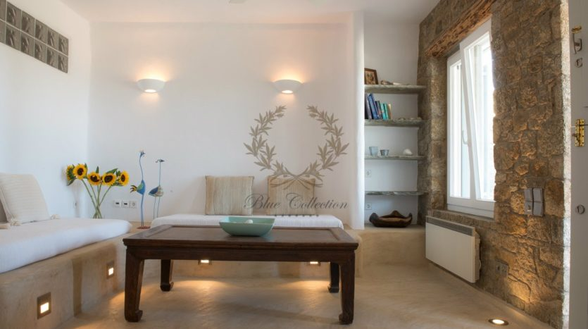 Mykonos Agrari – Private Villa with infinity Pool & Stunning views for rent P3