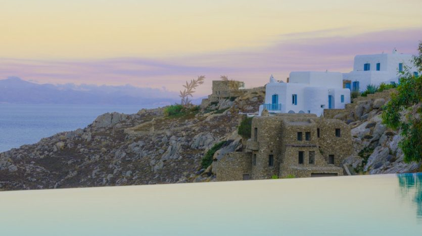 Mykonos Agrari – Private Villa with infinity Pool & Stunning views for rent P4