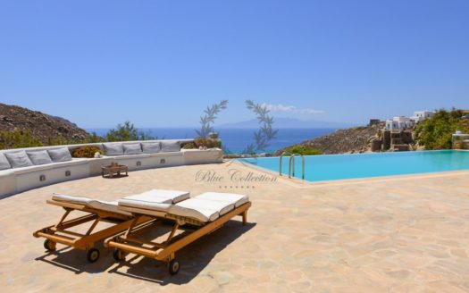 Mykonos | Agrari – Private Villa with infinity Pool & Stunning views for rent | Sleeps 8-10 | 4 Bedrooms |4 Bathrooms | CODE: CNA-1