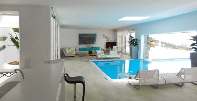 Mykonos Aleomandra Royal Private Villa in Mykonos with infinity pool for rent p15