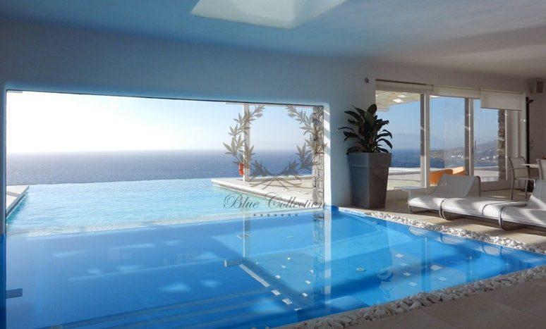 Mykonos Aleomandra Royal Private Villa in Mykonos with infinity pool for rent p18