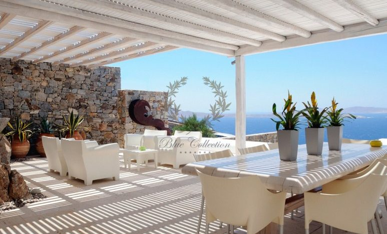 Mykonos Aleomandra Royal Private Villa in Mykonos with infinity pool for rent p20