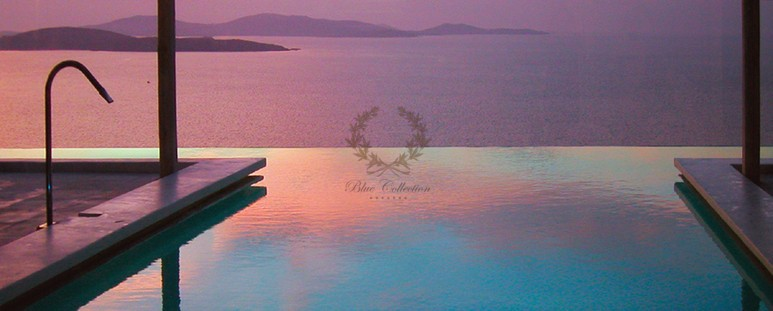 Mykonos Aleomandra Royal Private Villa in Mykonos with infinity pool for rent p21