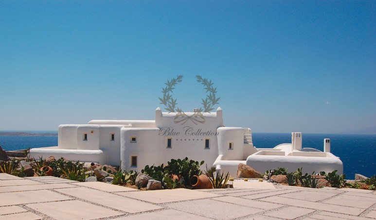 Mykonos Aleomandra Royal Private Villa in Mykonos with infinity pool for rent p4