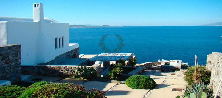 Mykonos Aleomandra Royal Private Villa in Mykonos with infinity pool for rent p6