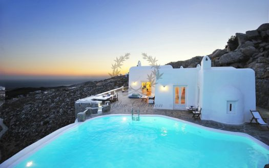 Mykonos | Chalara – Private Villa with Infinity Pool & Amazing view for rent | Sleeps 12 | 6 Bedrooms |6 Bathrooms| REF: 180412103 | CODE: CLR-1