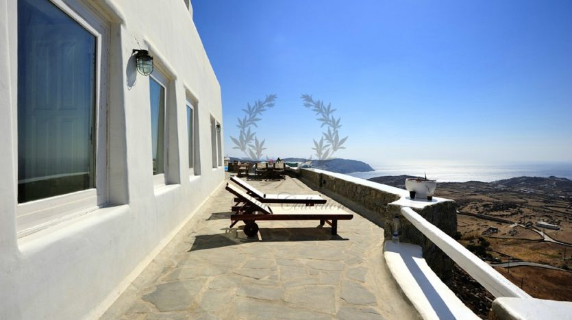 Mykonos Chalara – Private Villa with Infinity Pool & Amazing view for rent