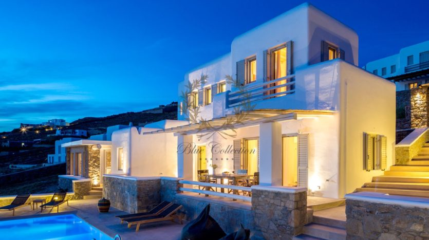 Mykonos Choulakia – Senior Villa with Private Pool & Stunning views for rent P20