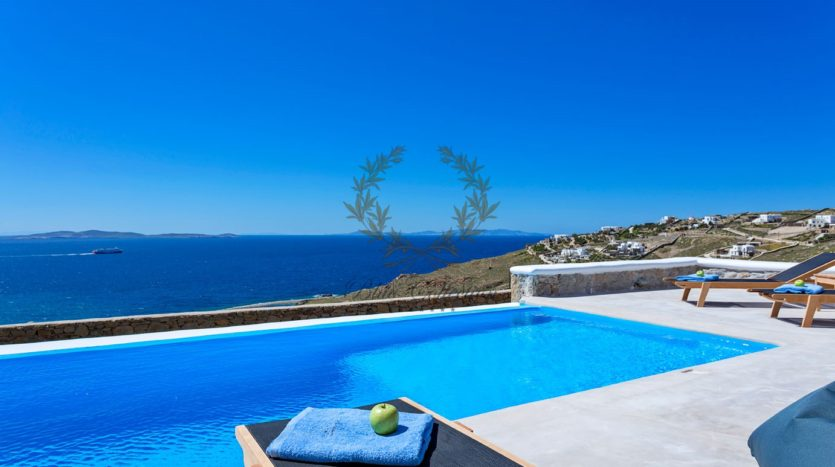 Mykonos Choulakia – Senior Villa with Private Pool & Stunning views for rent P6