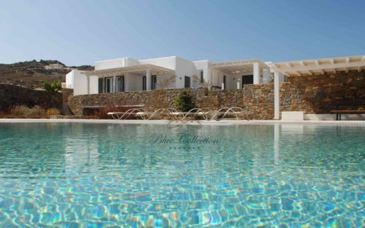 Mykonos - Greece| Elia – Presidential Villa with Private Pool & Stunning views for rent | Sleeps 10-11 | 5 Bedrooms |4 Bathrooms|Ref : 18041285 | CODE: ELB-1