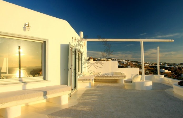 Mykonos Exclusive Villa with Private Spa Pool & Breathtaking views for rent p17