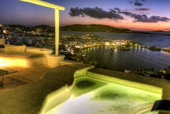 Mykonos Exclusive Villa with Private Spa Pool & Breathtaking views for rent p18
