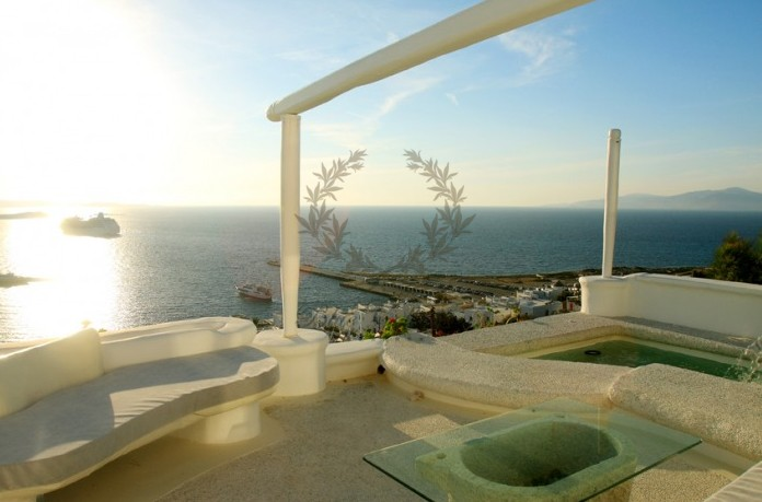 Mykonos Exclusive Villa with Private Spa Pool & Breathtaking views for rent p22 (2)