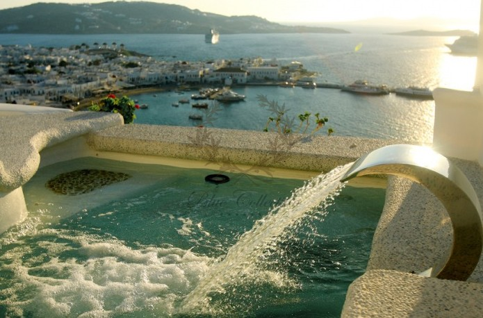 Mykonos Exclusive Villa with Private Spa Pool & Breathtaking views for rent p23