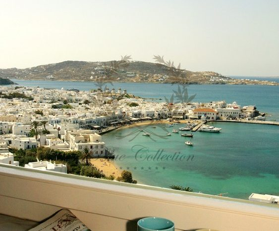 Mykonos Exclusive Villa with Private Spa Pool & Breathtaking views for rent p24