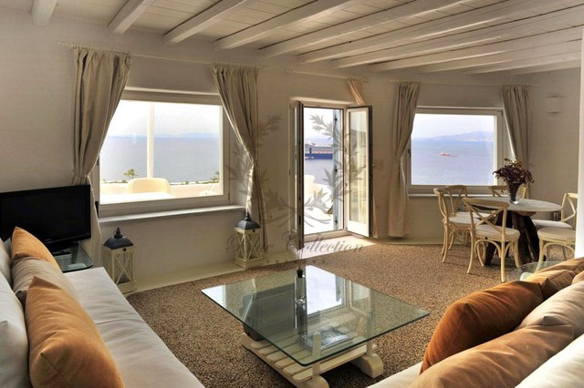 Mykonos Exclusive Villa with Private Spa Pool & Breathtaking views for rent p3