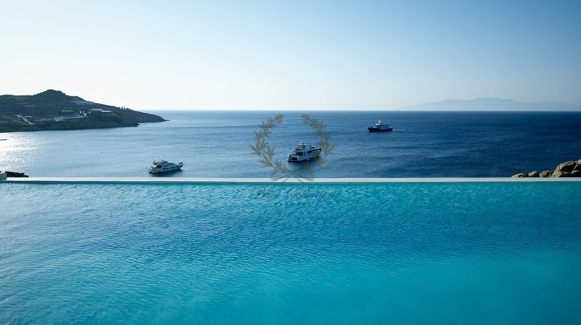 Mykonos – Paraga – Two Presidential Villas with Private infinity Pools & Stunning views for Rent p1 (2)