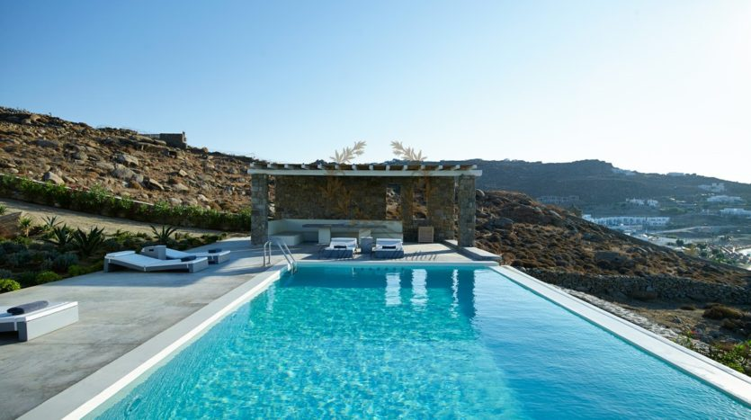 Mykonos – Paraga – Two Presidential Villas with Private infinity Pools & Stunning views for Rent p1 (8)
