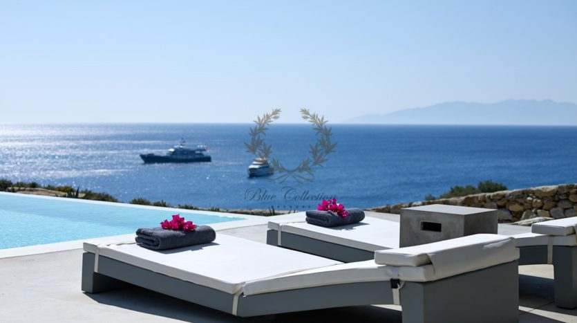 Mykonos – Paraga – Two Presidential Villas with Private infinity Pools & Stunning views for Rent p1 (9)