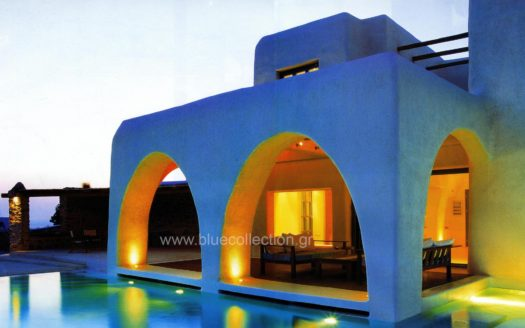 Mykonos   Agios Lazaros  Private Villa with Pool & Stunning view for sale   Code : ALR-1