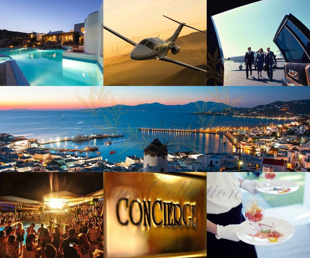 Luxury Concierge Services in Mykonos by Blue Collection Greece