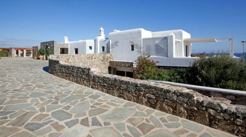 Presidential Villa for Rent in Mykonos – Greece