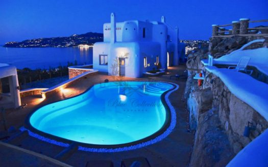 Private Villa for Rent in Mykonos – Greece | Kanalia | Private Pool| Mykonos  view | Sleeps 10 | 5+1 Bedrooms |5+1 Bathrooms| REF:  180412146 | CODE: KLA-1