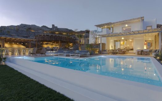 Superb Villa for Rent in Mykonos – Greece | Elia | Private Pool |Sea views | Sleeps 14 | 7 Bedrooms |7 Bathrooms| REF: 180412152 | CODE: ELD-6