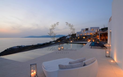 Superior Villa for Rent in Mykonos – Greece | Pouli | Private Pool |Amazing Sunset and Sea views | Sleeps 14 | 7 Bedrooms |7 Bathrooms| REF: 180412162 | CODE: PLV-1