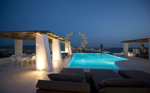 Private Villa for Rent in Mykonos – Greece | Tourlos | Private Pool | Mykonos & Sea views | Sleeps 16 | 8 Bedrooms |8 Bathrooms| REF: 180412159 | CODE: ATR-2