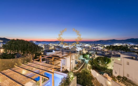 Luxury Villa for Rent in Mykonos – Greece | Mykonos Town |2x Private Heated Pools | Mykonos view | Sleeps 15 | 8 Bedrooms |8 Bathrooms|REF: 180412164 |CODE: MTL-1
