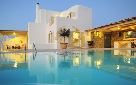 Beautiful Villa for Rent in Mykonos – Greece |Ag. Lazaros | Private Pool |Sea view | Sleeps 12 | 6 Bedrooms |6 Bathrooms| REF: 18041239 | CODE: 9M-1