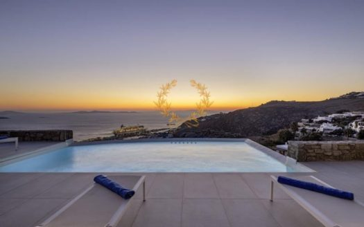 Private Villa in Mykonos for Rent | Greece| Tourlos | Private Pool | Mykonos & Sea views | Sleeps 8 | 4 Bedrooms | 4 Bathrooms | REF: 180412174 | CODE: BGM-13