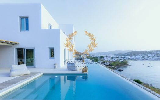 Executive Villa for Rent in Mykonos Greece| Ornos | Private Pool |Sea views | Sleeps 12+2 | 6+1 Bedrooms |7 Bathrooms| REF: 180412171 | CODE: KNO