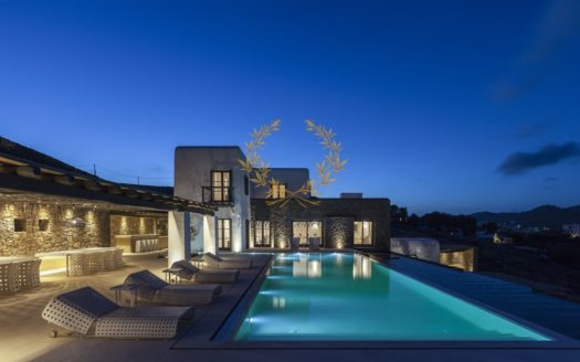 Private Villa for Rent in Mykonos Greece | Kalafatis | Private Pool |Sea views | Sleeps 12 | 6 Bedrooms | 6 Bathrooms| REF: 180412168 | CODE: KFS-1
