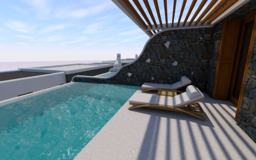 Luxury 5 star Hotel for Sale in Mykonos Greece (Under Construction) |Ornos |47 Rooms |REF: 180412176 | CODE: CPO-1
