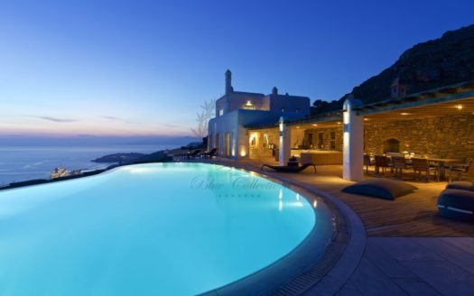 Presidential Villa for Rent in Mykonos Greece| Agia Sofia | Private Heated Pool | Mykonos view | Sleeps 20 |10 Bedrooms |11 Bathrooms| REF: 180412179 | CODE: ASF-1