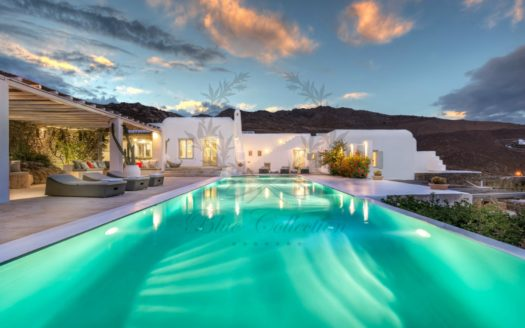 Luxury Villa for Rent in Mykonos Greece|Panormos Beach |Private Heated Pool | Sea view | Sleeps 16 | 7 Bedrooms |6 Bathrooms| REF: 180412181 | CODE: PNB