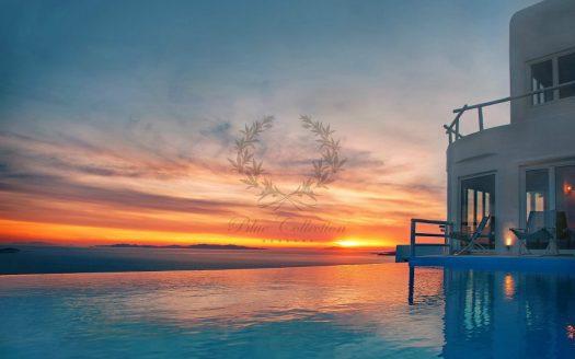Superior Villa for Rent in Mykonos – Greece | Kastro | Private Pool | Breathtaking Views | Sleeps 19 | 9 Bedrooms |10 Bathrooms| REF: 180412145 | CODE: Z-6