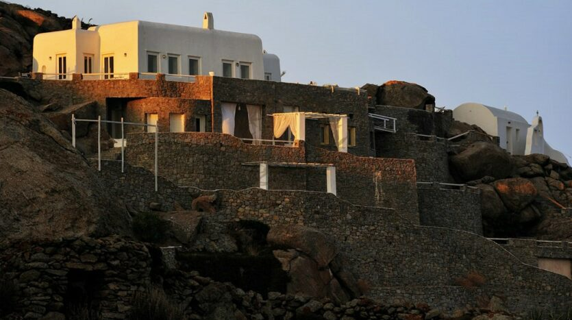 Mykonos Chalara – Private Villa with Infinity Pool & Amazing view for rent (14)