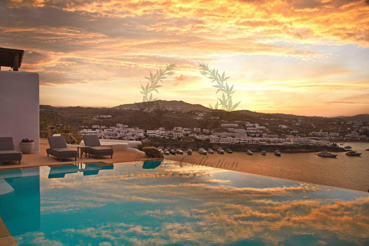 Private Villa For Rent In Mykonos Greece Psarou Beach